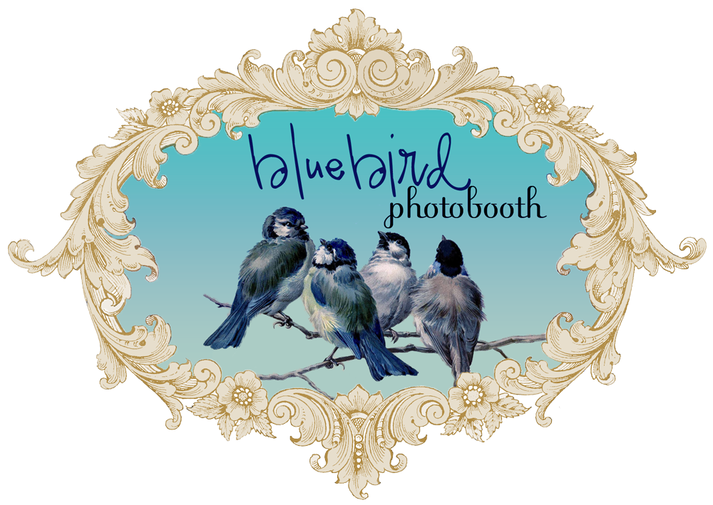 bluebird photobooth logo